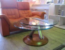 Ronald Schmitt(ロナルドシュミット) 可動式ガラステーブル IDC大塚家具取扱い