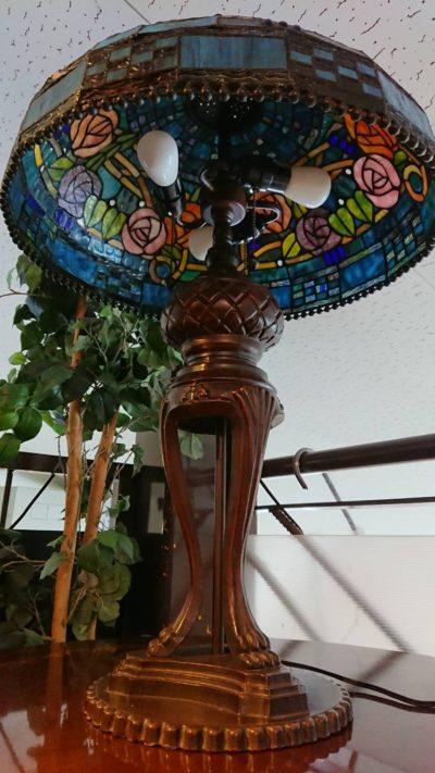 ステンドグラス 照明 3灯
