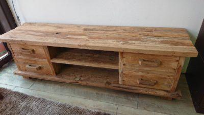 古木 テレビボード ナチュラル
