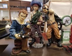 海賊置物 1