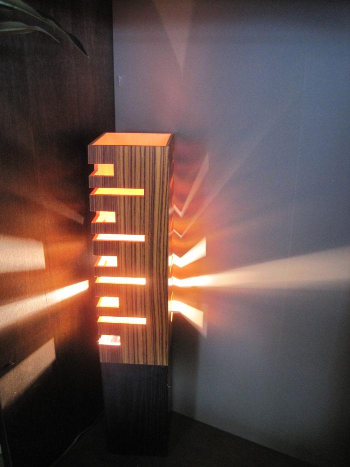 TEPS(テップス) フロアランプ(003038)  [E26 H65cm]  ブラック/ウッド調
