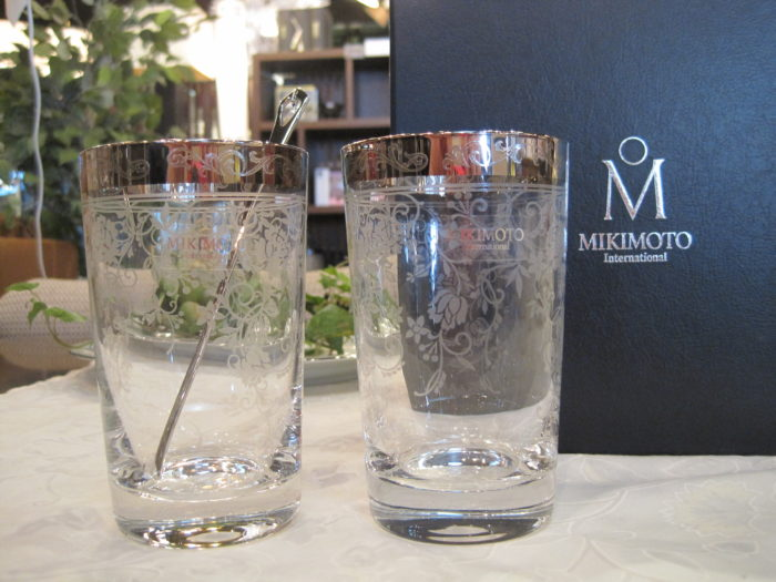"MIKIMOTO(ミキモト) 食器 ""グラス・マグカップ・お皿・マドラー"""