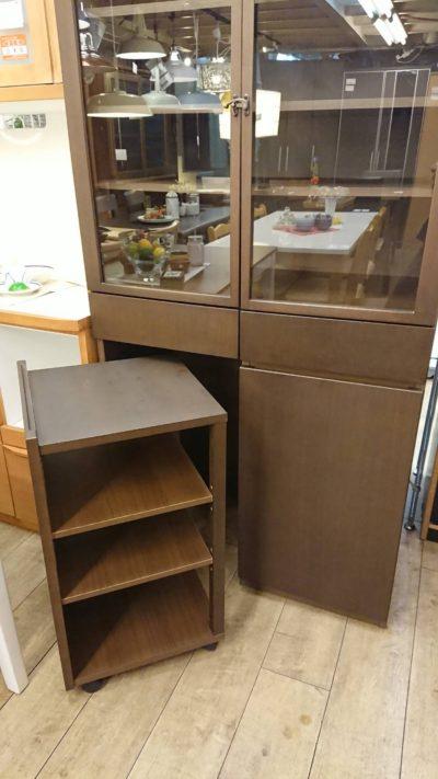 MUJI 食器棚 独立ワゴン