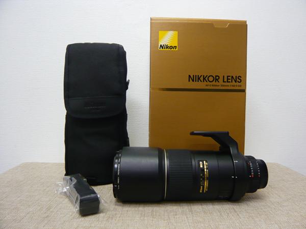 NIKON/ニコン AI AF-S Nikkor 300mm f/4D IF-ED