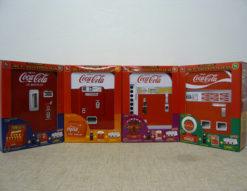 コカコーラ120周年記念 ベンディングマシン缶 4種類 フルセット