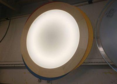 nec パイオニア製スピーカー搭載 LED照明 2012年製