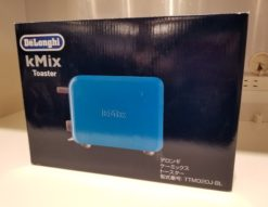 DeLonghi KMix ポップアップトースター TTM020J-BL