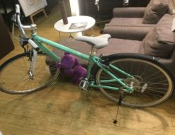 RITEWAY ライトウェイ クロスバイク 24段変速 軽量 スポーツ自転車 ターコイズブルー