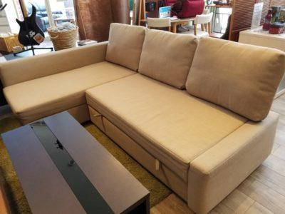 IKEA FRIHETEN コーナーソファベッド