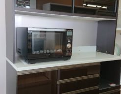 高橋木工所 TAKAHASHI レンジボード 食器棚 ハイカウンター