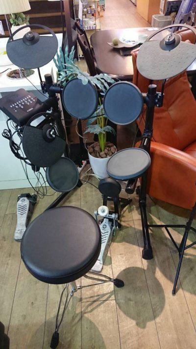 YAMAHA ヤマハ 電子ドラム DTX430K 椅子付き 譜面台 ヘッドフォン付き