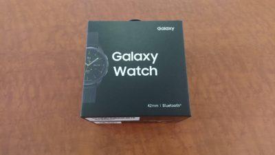 未使用品 Galaxy Watch ギャラクシーウォッチ SM-R810