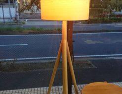 日進木工 nissin フロアランプ フロアライト 照明