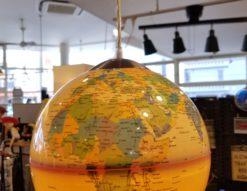 Planet Of Life 地球儀ペンダントライト アンティークオーシャン
