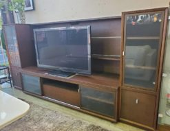 karimoku カリモク テレビボード 宮付き 収納付き TVボード ロータイプ