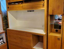 河口家具製作所 レンジボード 食器棚 ナチュラル 北欧 オシャレ