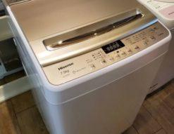 Hisense ハイセンス 7.5㎏ 洗濯機 2018年製 キレイ