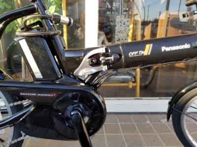 Panasonic OFF Time 折りたたみ 電動アシスト自転車 BE-ENW076