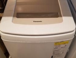 Panasonic インバーター 8.0K/4.5K 全自動洗濯乾燥機 NA-FD80H7
