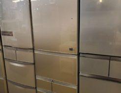 TOSHIBA 東芝 410L 5ドア 冷蔵庫 左開き 2017年製 大容量