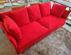 arflex アルフレックス 赤 レッド 3シーターソファ 3人掛け ソファ かっこいい おしゃれ メイン