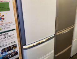 MITSUBISHI 三菱 335L 3ドア 冷蔵庫 2019年製 ホワイト