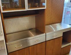 unico ウニコ STRADA ストラーダ レンジボード キッチンカウンター 食器棚 キッチンボード キッチン収納 壁面収納