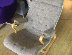 天童木工 Mseries(エムシリーズ)ハイバックチェア買取しました 軽量 リラックス 北欧家具 デザイナーズ家具 パーソナルチェア リビングチェア