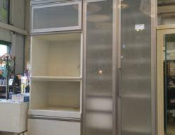 AYANOCRAFT(綾野製作所)レンジボード買い取りました 大容量収納 お手入れ簡単 耐震 耐熱 ユニット式 隠す収納