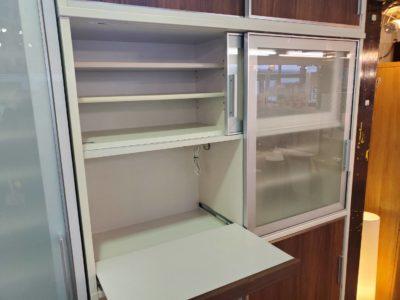 キッチン収納 壁面収納 食器棚 大型 たくさん収納 食器大量 かっこいい インダストリアル モダン お洒落