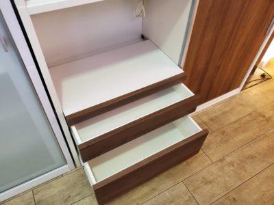 レンジボード 壁面収納 食器収納 キッチンストッカー 大容量収納 おしゃれ レトロ カフェ風