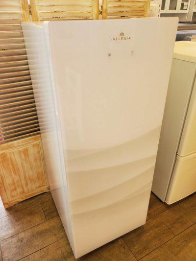 ALLEGiA アレジア 冷凍庫 冷凍ストッカー 150L 2019年製 ホワイト 霜取り不要 ファン式 大容量 冷凍室