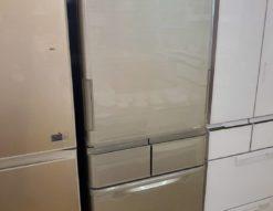 SHARP シャープ 412L 冷蔵庫 5ドア 2018年製 冷凍冷蔵庫 シルバー 大型 大容量