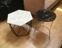 Armonia アルモニア 大理石センターテーブル ホワイト サイドテーブル ブラック入荷しました 天然大理石 モダン シンプル モノトーン 北欧風 コーヒーテーブル