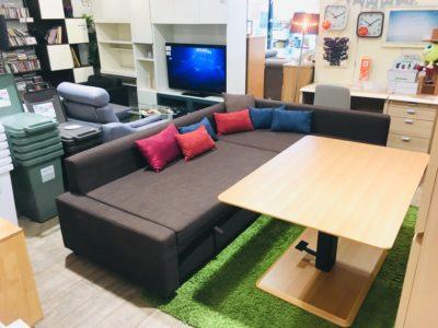 IKEA*ユニット式カウチソファベッド(収納付き)買取しました!