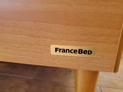 FRANCE BED ふらんすべっど フレーム マットレス 2点セット モダン ナチュラル シンプル シングルサイズのベッド 1人用 単身用 一人暮らし かわいい