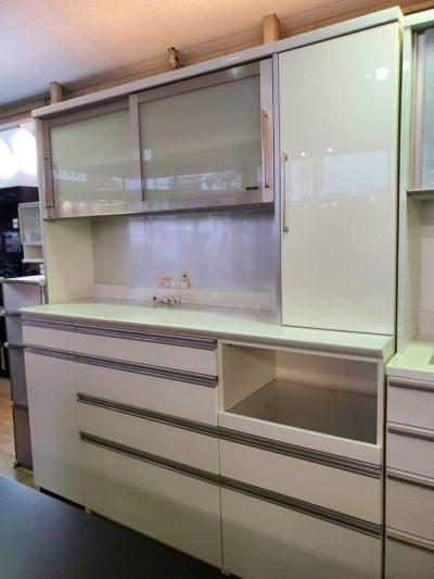 Pamouna パモウナ SUPERIOR スーペリア レンジボード キッチンボード 食器棚 ホワイト 高級 最高級 キレイ 大きい フードストッカー
