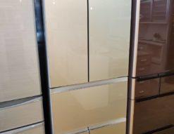 TOSHIBA 東芝 462L 6ドア 冷蔵庫 2017年製 VEGETA ベジータ 真ん中野菜室 大容量 フレンチドア