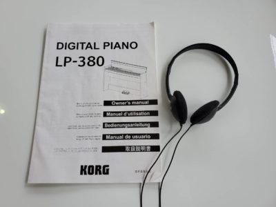 KORG コルグ 電子ピアノ デジタルピアノ キーボード お子さま ヘッドホン付 ペダル付 オシャレ スリムデザイン ホワイト クラシック ジャズ ポップス
