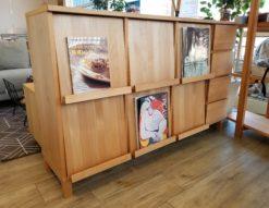 TAKANO MOKKOU / 高野木工 フラップラック マガジンラック ナチュラルシリーズ