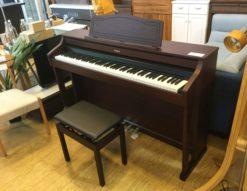 Roland ローランド 電子ピアノ HP-505-GP ウォールナット調 アコースティック・プロジェクション 省エネ 省スペースデザイン 内蔵デモ曲多数 中古ピアノ