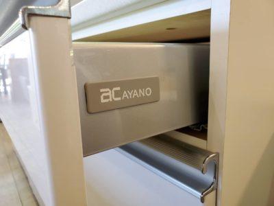 Ayano ayano 綾野 製作所 レンジボードセット たっぷり収納 キッチンキャビネット 収納家具 キッチンボード キッチン収納 レンジ台 ゆっくり閉まる 作業スペース 大型収納 モダン ホワイト シンプル 高級 キレイ 美品