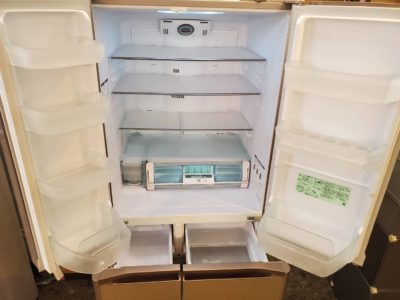 hitachi ヒタチ ひたち 冷蔵庫 冷蔵室 冷凍室 観音開き ファミリータイプ 大容量 おしゃれ エレガント オススメ