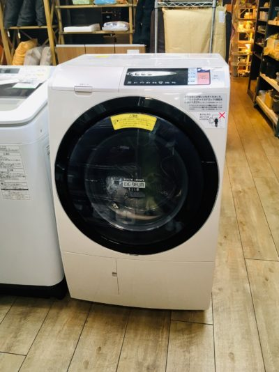 HITACHI*ドラム式洗濯乾燥機(11Kg/6Kg)買取しました!