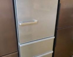 AQUA アクア 272L冷蔵庫 3ドア冷蔵庫 2019年製 高年式 272L 3ドア 冷蔵庫 シルバー ロータイプ レンジが置ける 2人暮らし 3人暮らし 1人暮らし 単身用 自炊派シングル