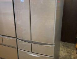 SHARP シャープ 455L 6ドア 冷蔵庫 2019年製 高年式 プラズマクラスター フレンチドア 観音開き 冷凍冷蔵庫