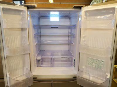 Sharp シャープ 455L冷蔵庫 6ドア冷蔵庫 両開き 自動製氷 2019年式 新しい キレイ 大型 450L 500L 冷蔵庫