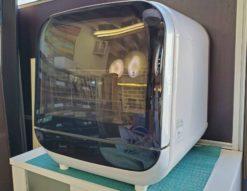 SKjapan エスケイジャパン 食器洗い乾燥機 食洗機 2019年製 高年式 2人用 3人用 工事不要 タンク式 コンパクト jaime ジェイム