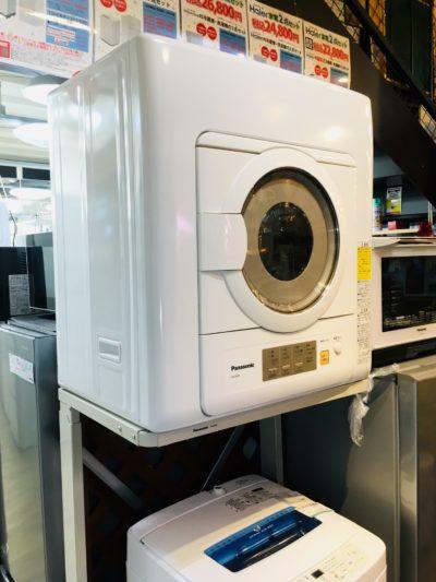 Panasonic*衣類乾燥機(2017年製)買取しました!