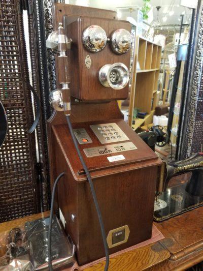 NTT クラシックピンク電話 レトロ公衆電話機 P88-0181